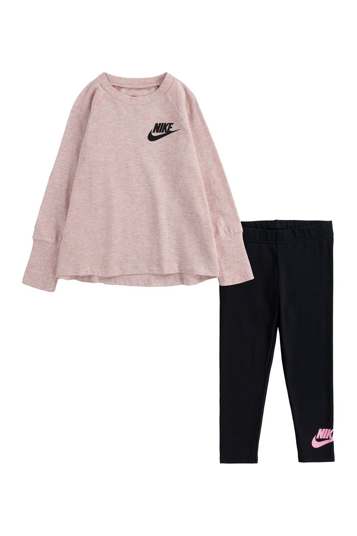 Image of Nike Tunic T-Shirt and Leggings 2-Piece Set