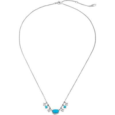 Nadri Issa Shaky Charm Frontal Necklace