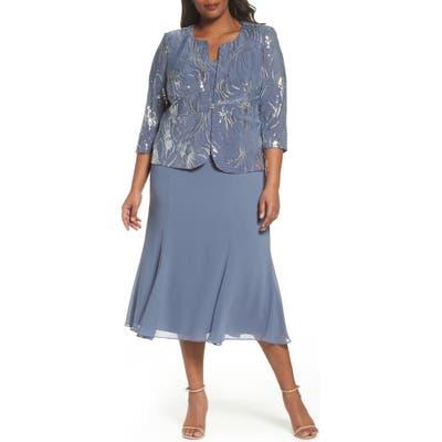 Alex Evenings Plus Size Dresses