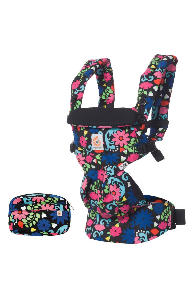 ERGOBABY Omni 360 Baby Carrier, Main, color, FLORES