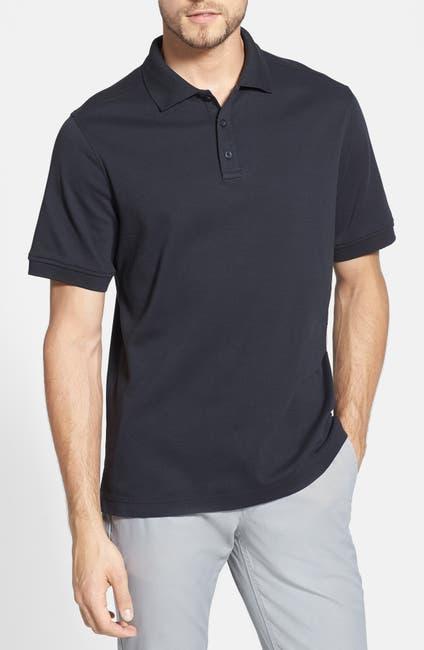 Image of NORDSTROM MEN'S SHOP Regular Fit Interlock Knit Polo