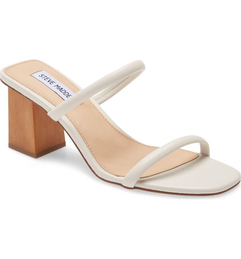 STEVE MADDEN Honey Slide Sandal, Main, color, BONE
