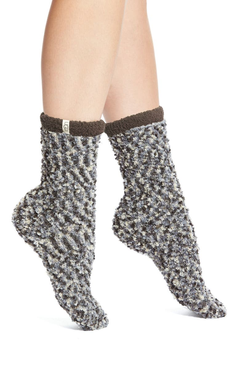 UGG<SUP>®</SUP> Australia Chenille Crew Socks, Main, color, 024