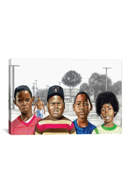 Image of iCanvas Boys In The Hood by Manasseh Johnson