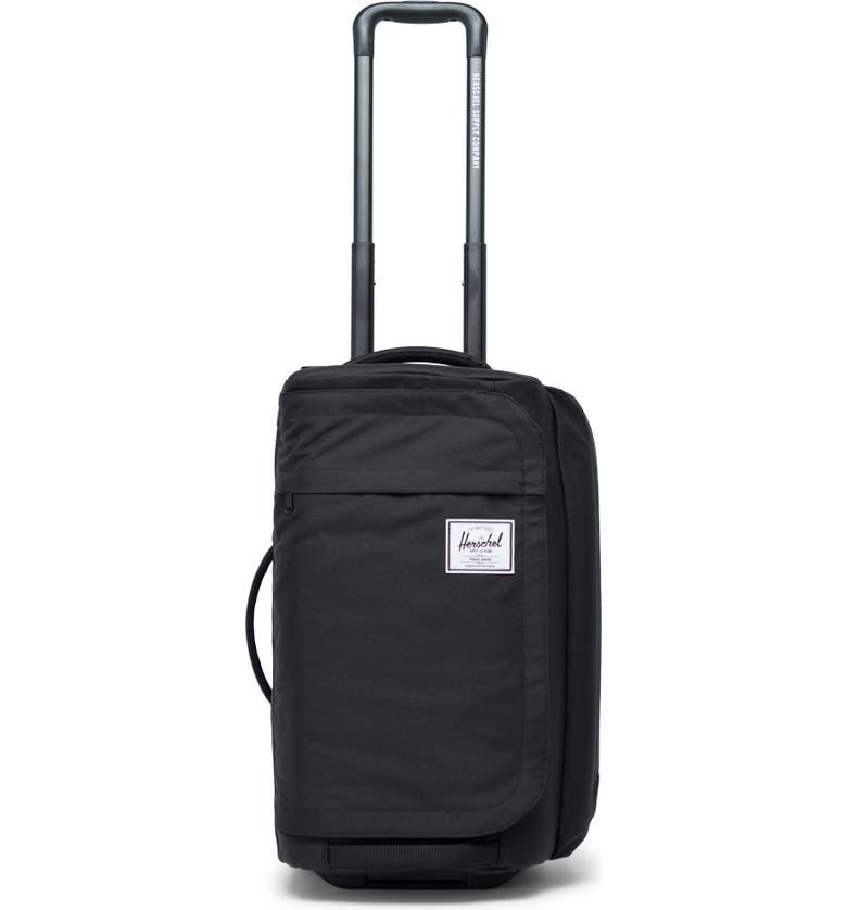 HERSCHEL SUPPLY CO. Wheelie Outfitter 50-Liter Duffle Bag, Main, color, BLACK