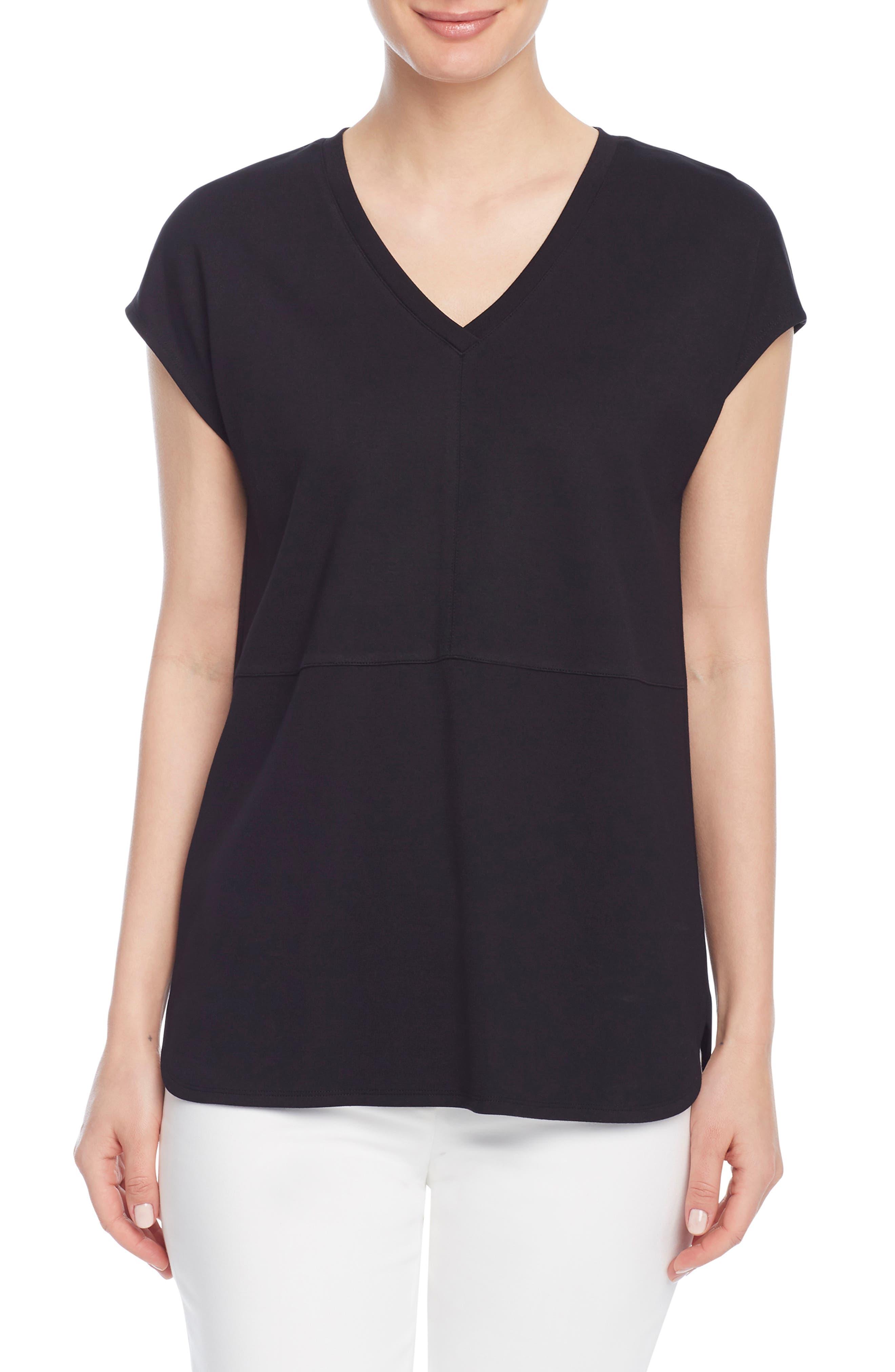 V-Neck Dolman Sleeve T-Shirt