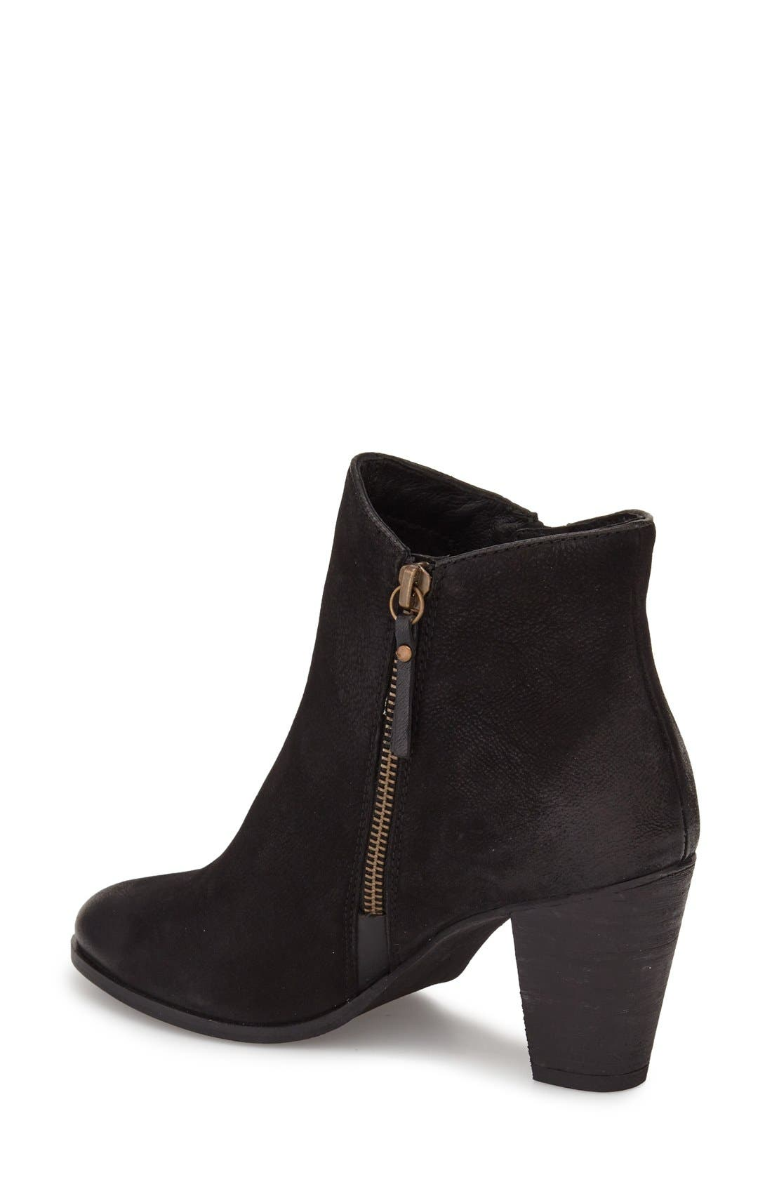 ,                             Maddock Block Heel Bootie,                             Alternate thumbnail 30, color,                             001