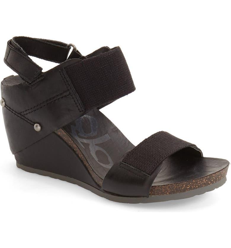 OTBT 'Trailblazer' Wedge Sandal, Main, color, 001
