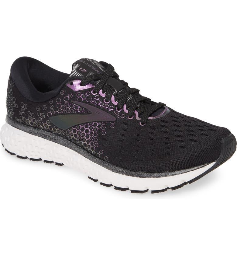 BROOKS Glycerin 17 Running Shoe, Main, color, BLACK/ IRIDESCENT