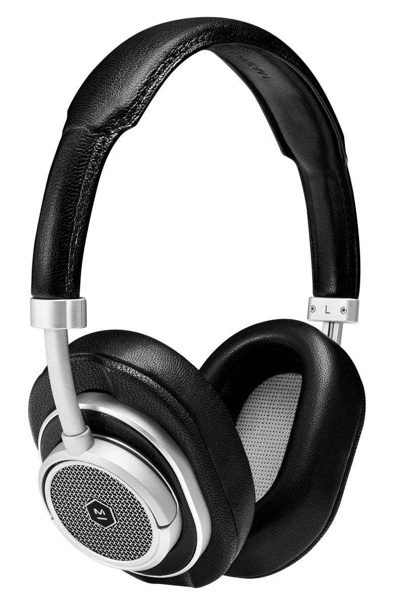 MASTER & DYNAMIC MW50Plus Wireless On/Over-Ear Headphones, Main, color, BLACK/ SILVER
