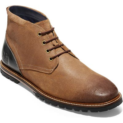 Cole Haan Raymond Grand Water Resistant Chukka Boot, Brown