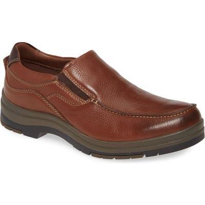 Johnston & Murphy Moc Toe Waterproof Venetian Loafer, Brown