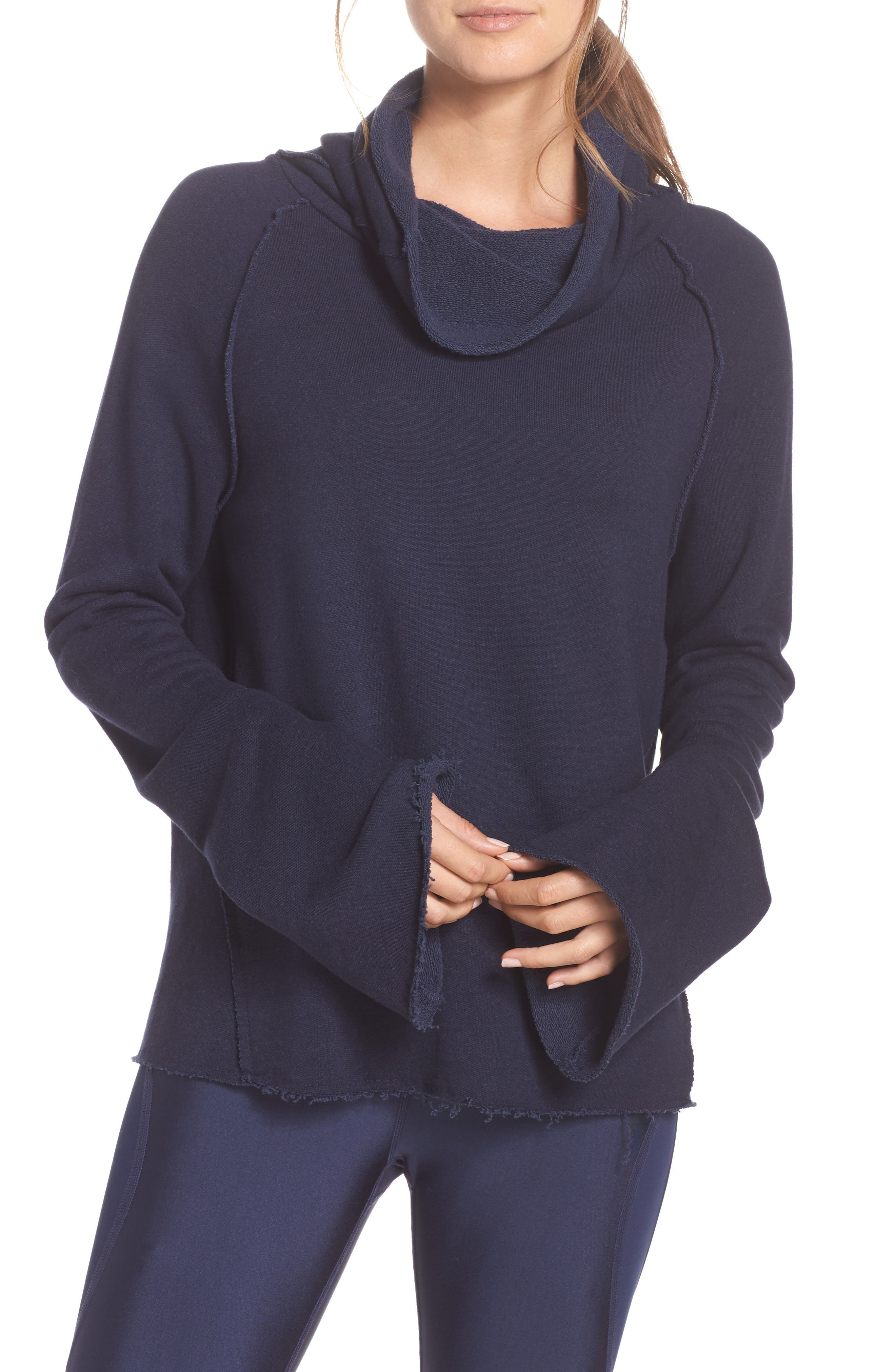 Alala Rikki Cowl Neck Sweatshirt