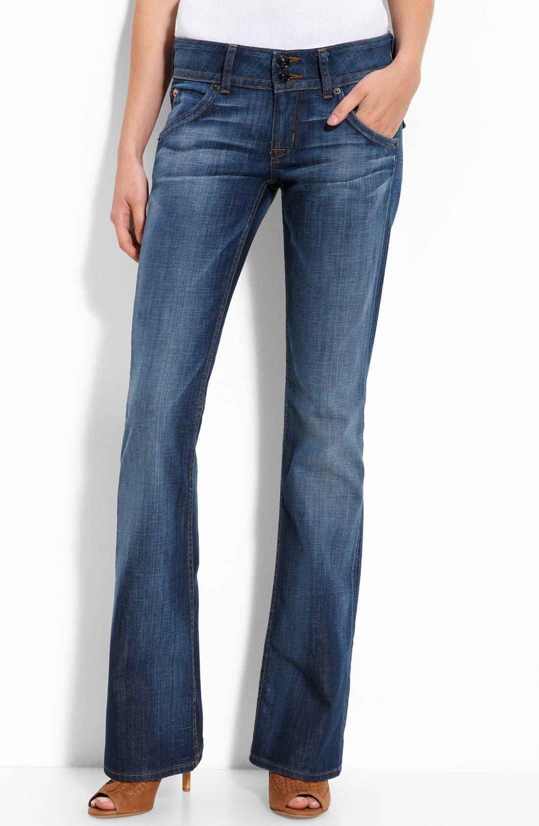 ,                             Signature Flap Pocket Bootcut Jeans,                             Main thumbnail 68, color,                             471
