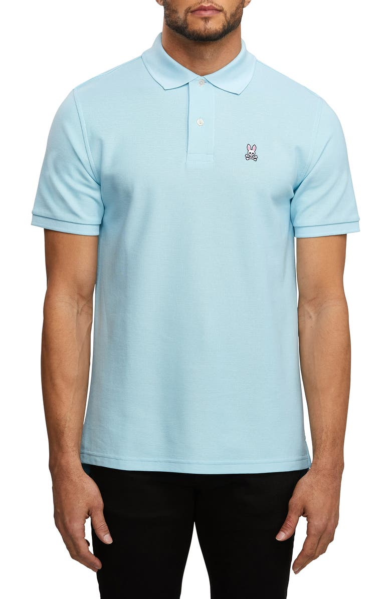 Psycho Bunny The Classic Slim Fit Piqu Polo