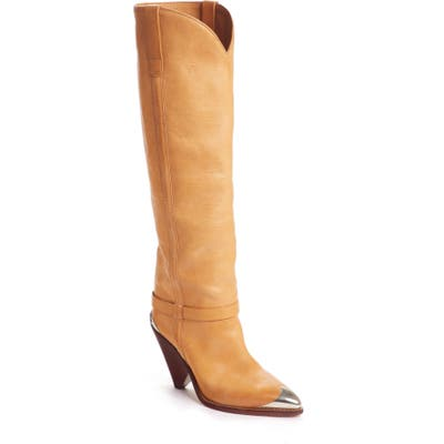 Isabel Marant Lenskee Knee High Boot, Brown