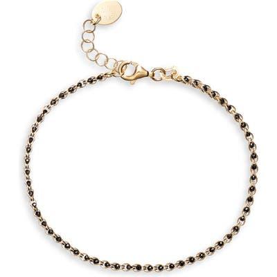 Argento Vivo Caged Crystal Bracelet
