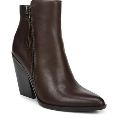 Naturalizer Rooney Dual Zip Bootie- Brown