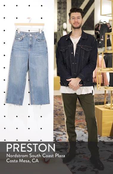 Crop Wide Leg Jeans, sales video thumbnail