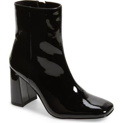 Steve Madden Taryn Square Toe Boot, Black