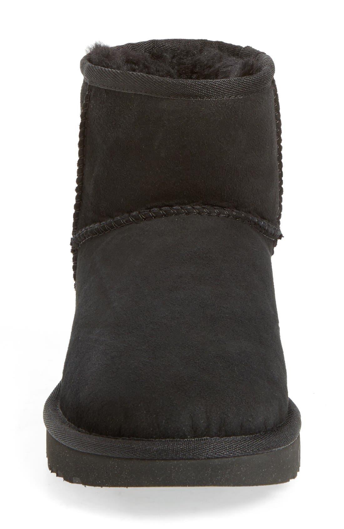 ,                             Classic Mini II Genuine Shearling Lined Boot,                             Alternate thumbnail 108, color,                             001