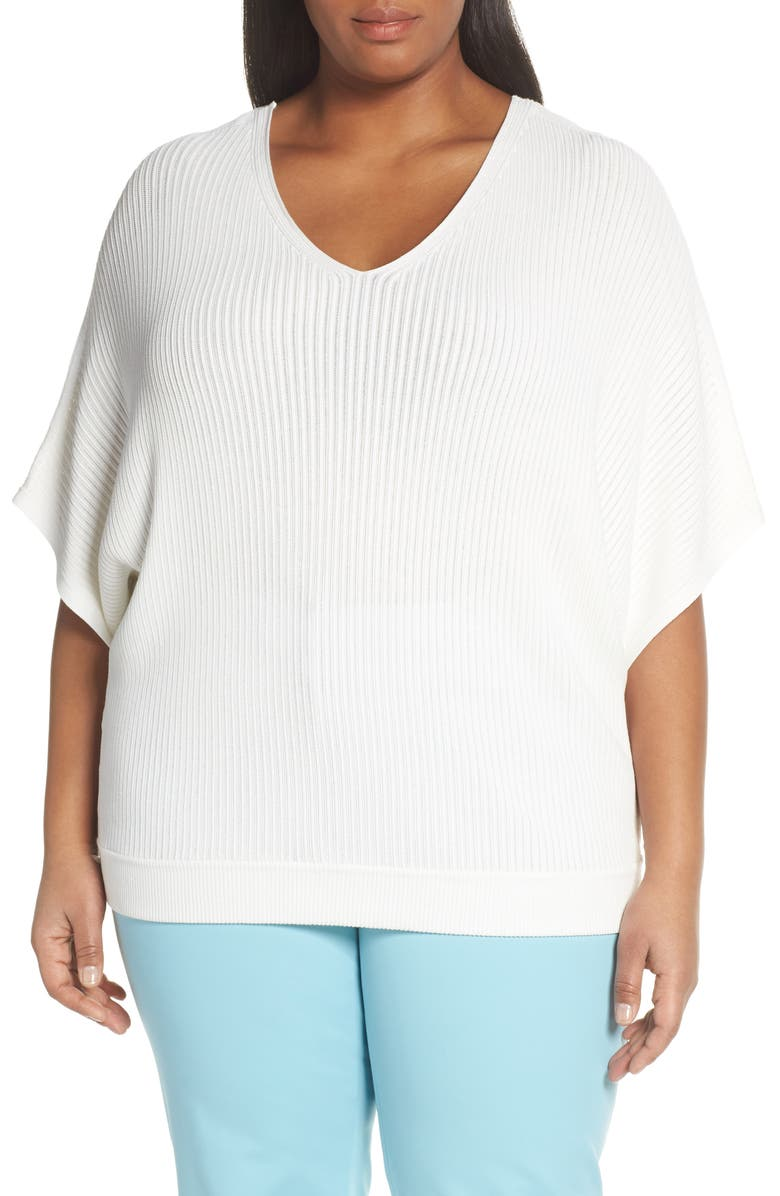 LAFAYETTE 148 NEW YORK Relaxed Dolman Sleeve Sweater, Main, color, 141