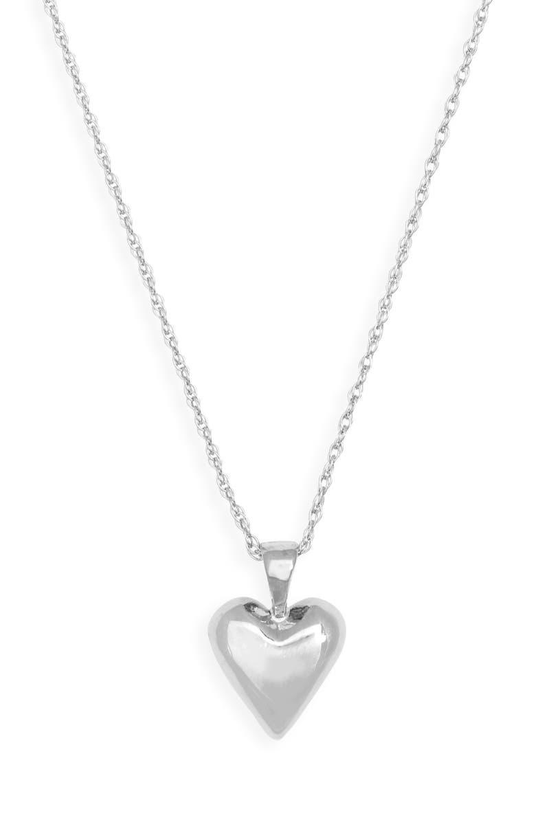 SOPHIE BUHAI Tiny Heart Pendant Necklace, Main, color, 040