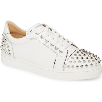 Christian Louboutin Vieirissima Spike Low Top Sneaker