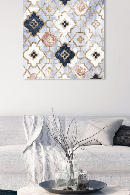 Image of Oliver Gal Gallery Rose Quartz Moroccan Canvas Art