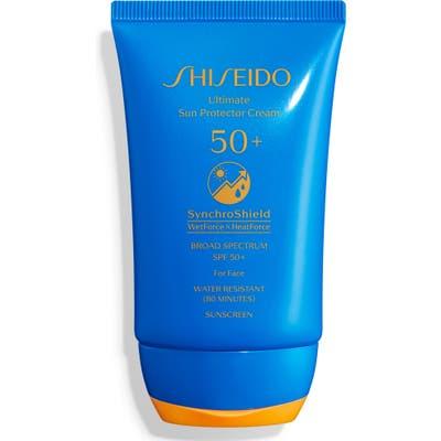 Shiseido Ultimate Sun Protector Cream Spf 50+ Sunscreen