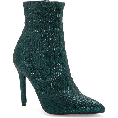 Jessica Simpson Lailra Pointed Toe Stiletto Boot, Green