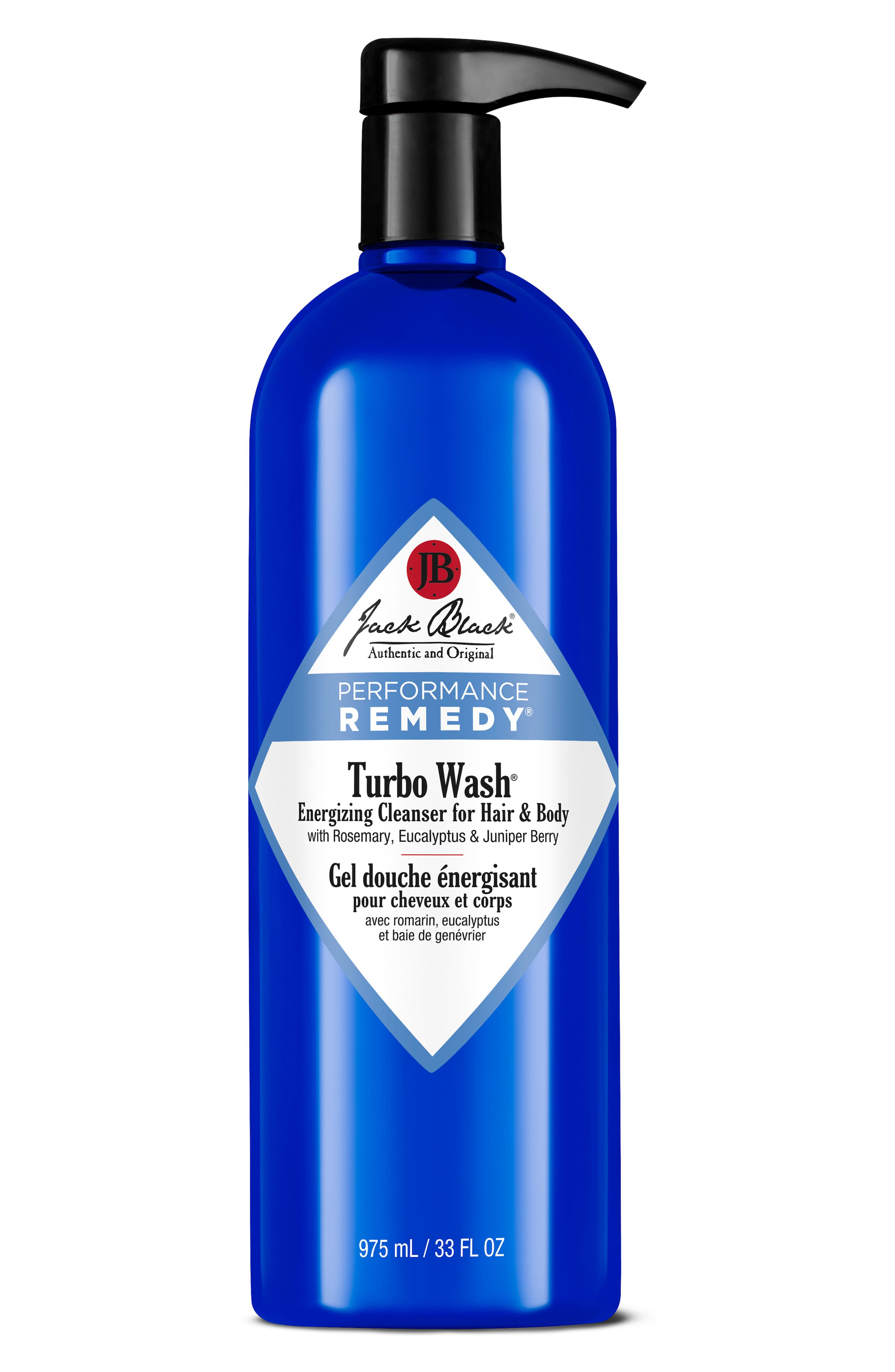 ,                             Turbo Wash<sup>®</sup> Energizing Cleanser for Hair & Body,                             Main thumbnail 1, color,                             NO COLOR
