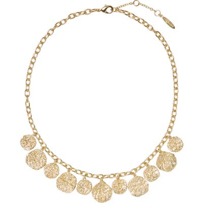 Sole Society Frontal Charm Necklace