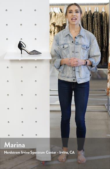 Brenda Ankle Strap Pump, sales video thumbnail