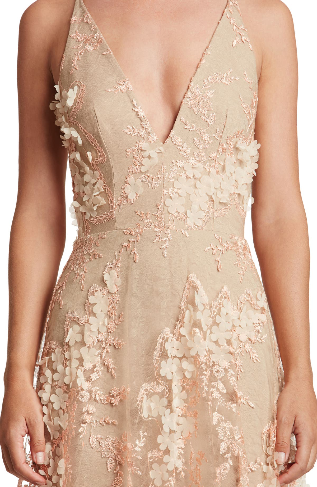 4dc6a570e24 Dress the Population Sidney Lace Gown