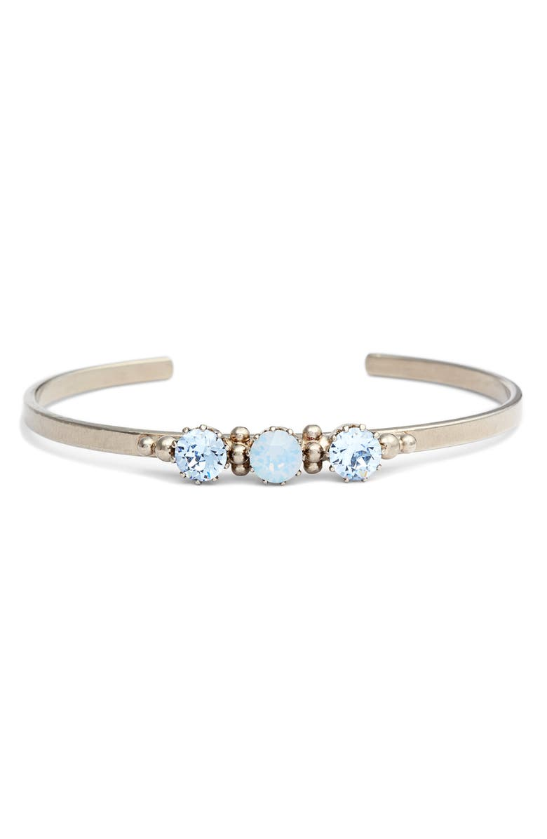 SORRELLI Crystal Cuff Bracelet, Main, color, 400