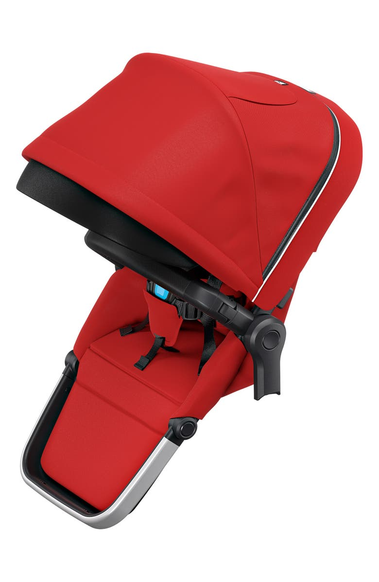 THULE Sibling Seat Accessory for Thule Sleek Stroller, Main, color, ENERGY RED