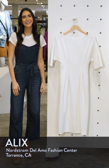 Symbol Box Pleat Detail Midi Dress, sales video thumbnail