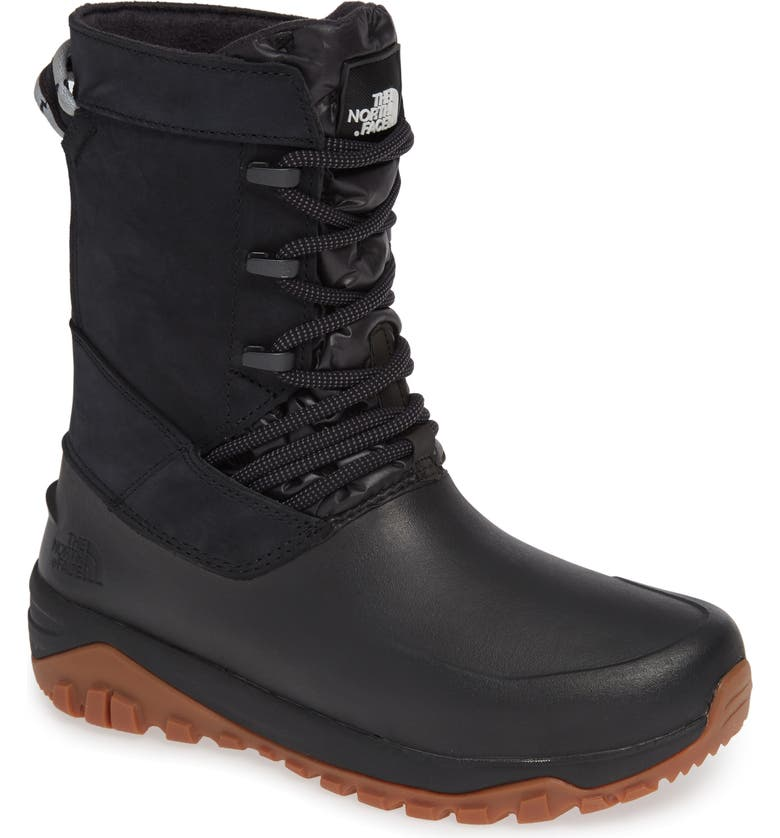 THE NORTH FACE Yukiona Waterproof Winter Boot, Main, color, 001