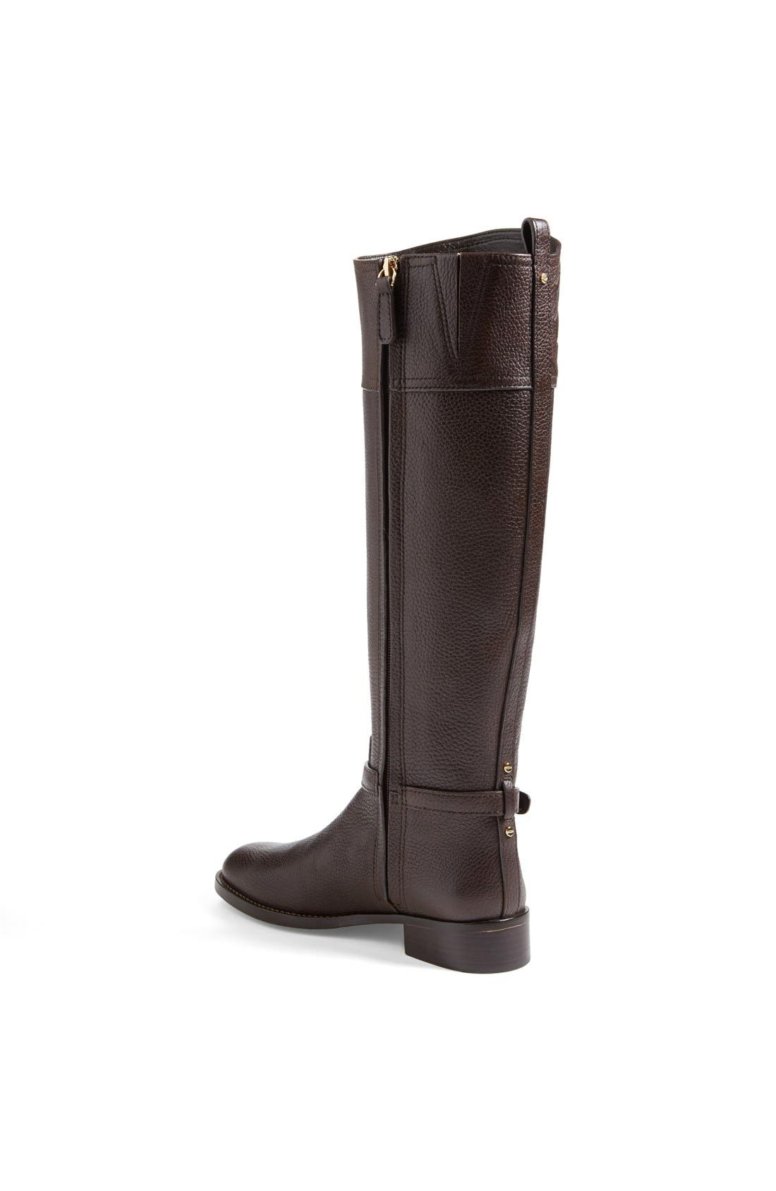 ,                             'Marlene' Leather Riding Boot,                             Alternate thumbnail 10, color,                             212