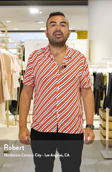 Laiche Stripe Shirtdress, sales video thumbnail