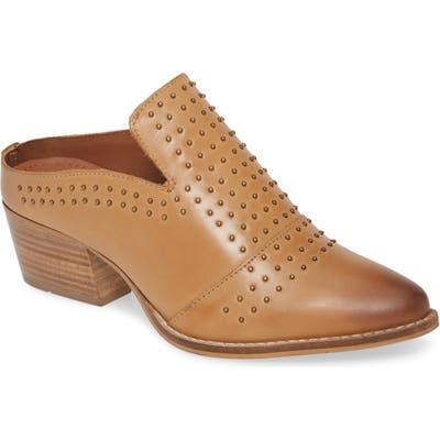 Very Volatile Russo Studded Mule, Brown