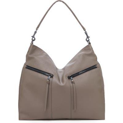 Botkier Trigger Pebbled Leather Hobo - Brown