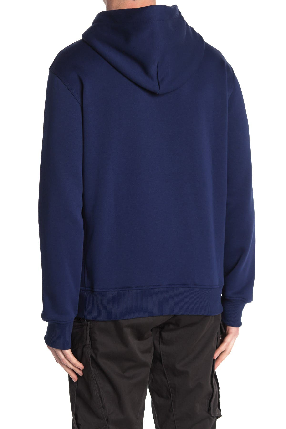 Image of G-STAR RAW Varsity Felt Drawstring Hoodie