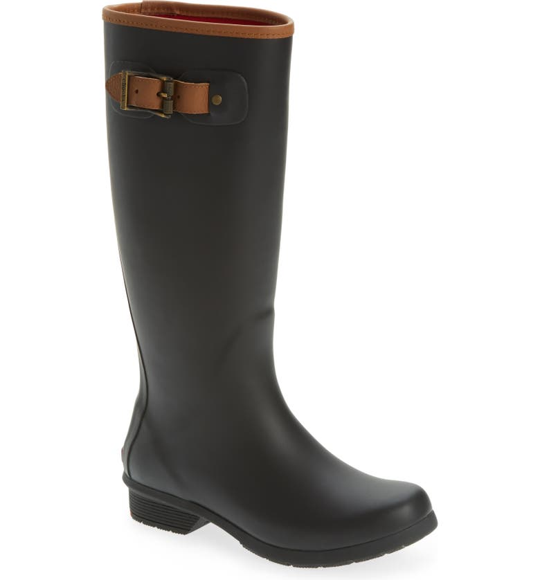 CHOOKA City Tall Rain Boot, Main, color, BLACK