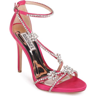Badgley Mischka Hodge Strappy Sandal, Pink