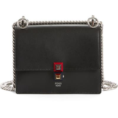 Fendi Small Kan I Leather Bag -