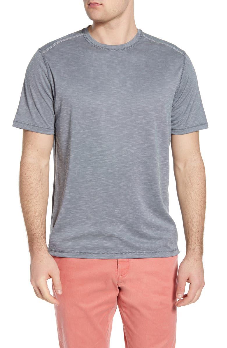 TOMMY BAHAMA Flip Tide Reversible Performance T-Shirt, Main, color, 051