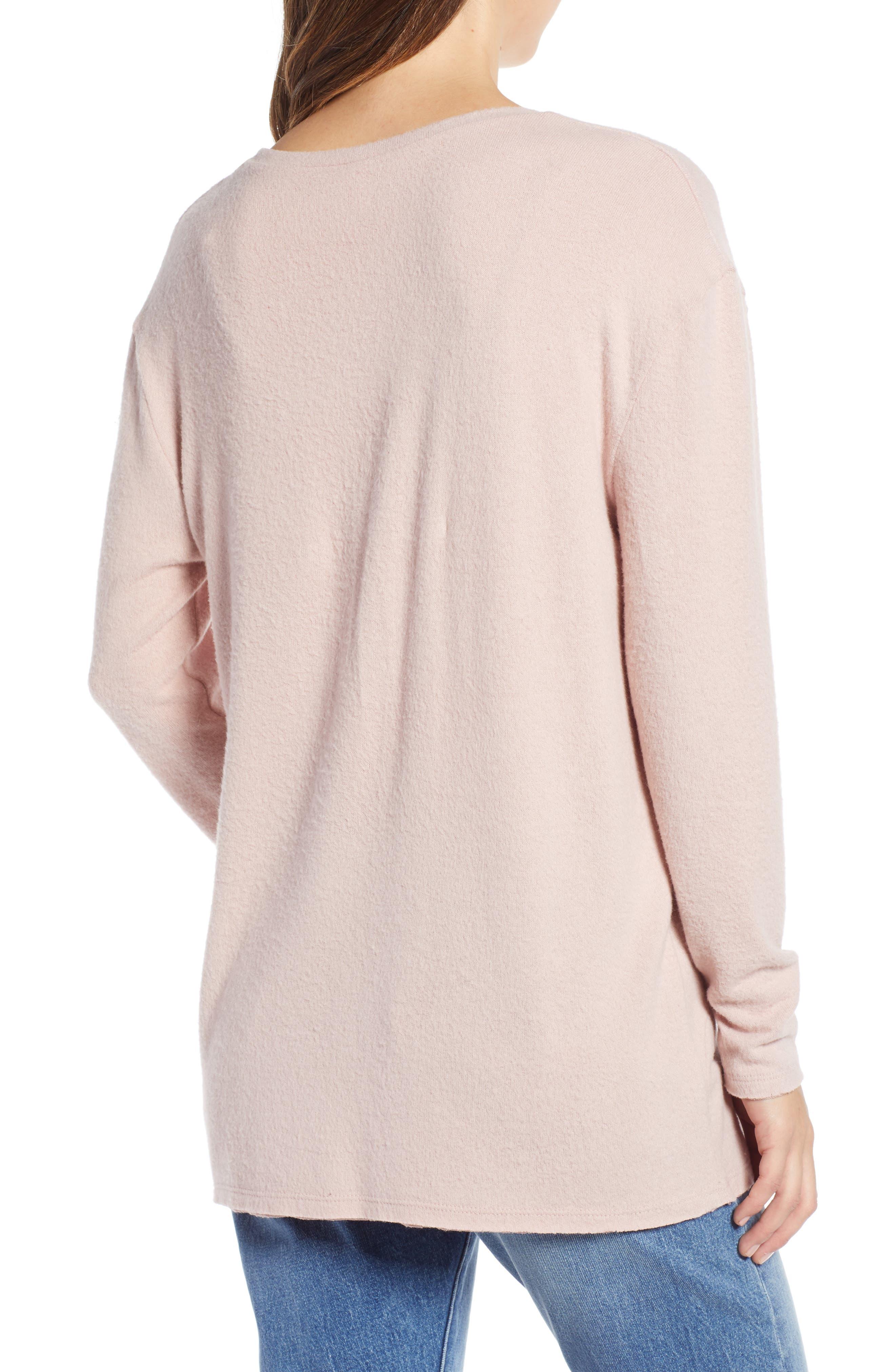 ,                             Cozy V-Neck Sweater,                             Alternate thumbnail 30, color,                             680