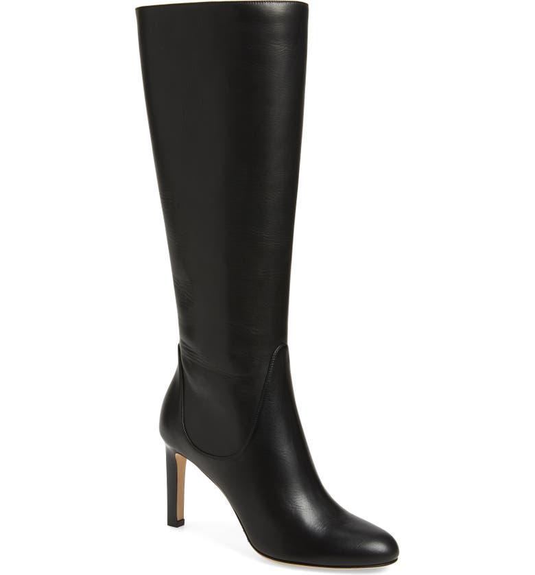 JIMMY CHOO Tempe Boot, Main, color, BLACK LEATHER